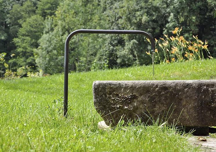 Brunnen | Am Roseneck Prien